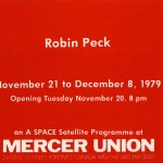 Robin Peck. Invitation.