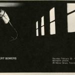 Robert Bowers. Invitation