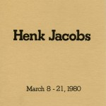 Henk Jacobs. Invitation.