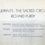 Richard Purdy. Invitation back.