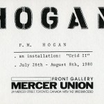 F.M. Hogan. Invitation.
