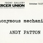 Andy Patton. Invitation