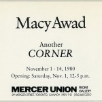 Macy Awad. Invitation.