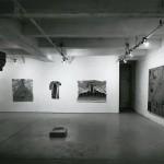 From left to right: Dennis Gill Carol Wainio. John Clark. Installation view. Photo: Peter MacCallum.