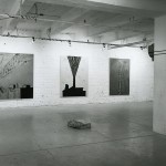 From left to right: John Clark. Dennis Gill. Installation view. Photo: Peter MacCallum