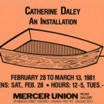 Catherine Daley. Invitation