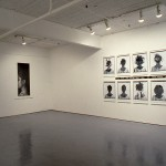 From left to right: Lorna Simpson. Portrait., Styles. Installation view. East Gallery. Photo: Peter MacCallum