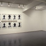 From left to right: Lorna Simpson. Styles., Test. Installation view. East Gallery. Photo: Peter MacCallum