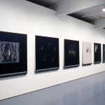"""From left to right: Margaret May. """"Wraith."""", """"Wisps."""", """"Chamber."""", """"Solicitude."""", """"Observance."""", """"Underworld."""" Vignette Series. Installation view. West Gallery. Photo: Peter MacCallum"""