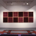 Neil MacInnis, Gay Bashing Tartan/Gay Nineties Tartan. Installation view. Photo: Peter MacCallum