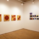 From Left to right: Hanna Claus. Steve Venright. Installation view. Main Gallery. Photography by Cheryl O'Brien.