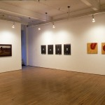 From Left to right: Grant McConnell. Hanna Claus. Installation view. Main Gallery. Photography by Cheryl O'Brien.