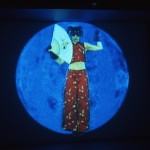 Lynne Marsh. Venus...I see blue. Installation view. Photography by Simon Glass.