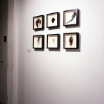 Fiona Mowatt. Untitled #1-6. Installation view. Front Gallery. Photography by Brian Piitz.