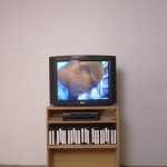 Rebecca Bournigault. 15 Minute Portraits, a video series, 1995. Installation view. Photography by Brian Piitz.