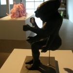 Kirstan Horton. Bebida, 2005, styrofoam, laser prints. Installation view. Front Gallery.