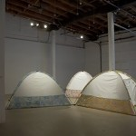 Leah Garnett. Private Planetarium. Installation view. Front Gallery.
