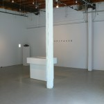 Installation view. Front Gallery.
