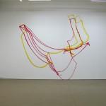 Gwen MacGregor & Sandra Rechico. Floppy Map. Installation view. Front Gallery.