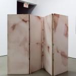 Chloé Quenum,Untitled, 2012. Folding screen. Photo: Toni Hafkenscheid.