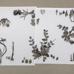 Abbas Akhavan, Study for a Monument (2013-), Cast bronze, white cotton sheets, dimensions variable. Photo credit: Toni Hafkenscheid